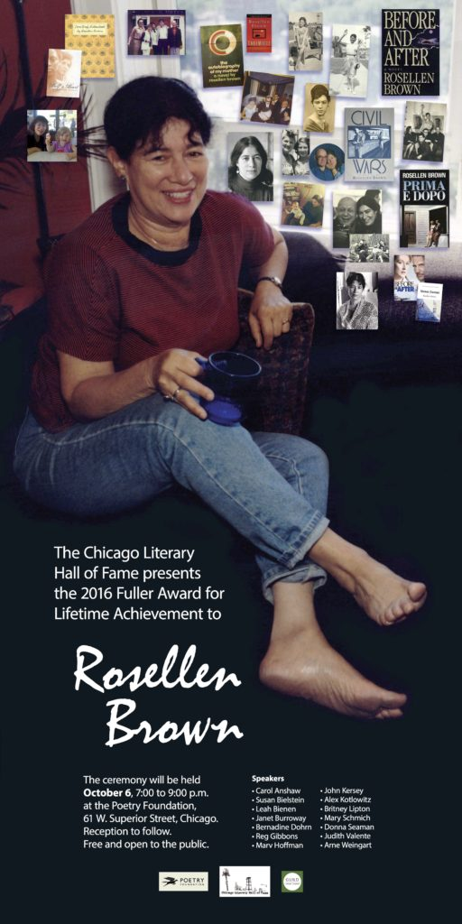 Rosellen Brown poster