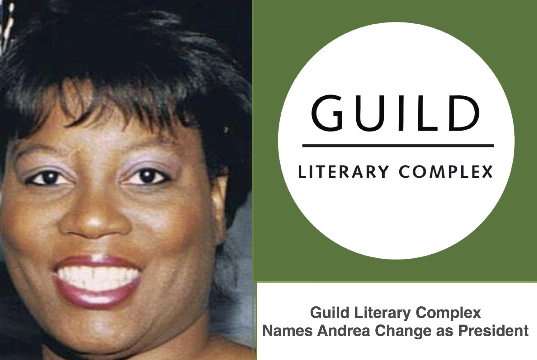 Guild Literary Complex Names Andrea Change As President