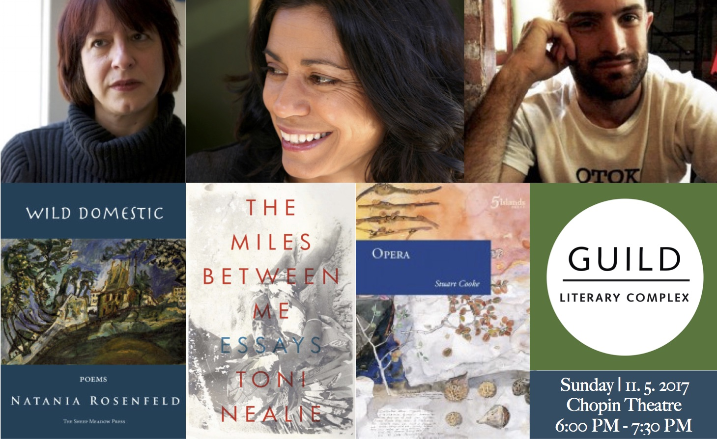 Transnational Poetics, Reading and Conversation | Chopin Theatre | Nov. 5, 2017 | 6:00 PM