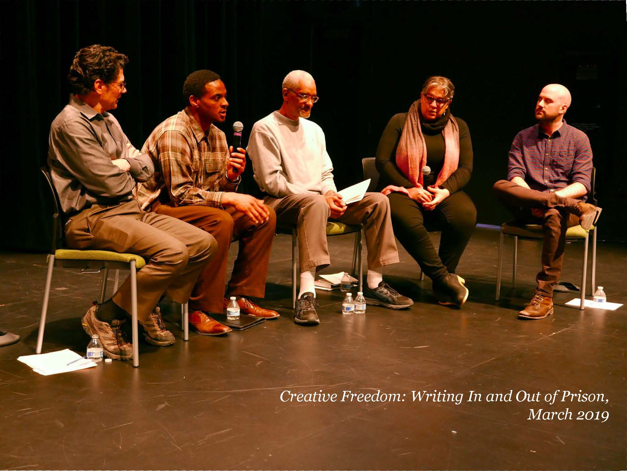 Creative freedom: writing in and out of prison
